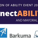 Celebration of Ability 2020 ConnectABILITY and Mayoral Awards. City of playford logo, Barkuma logo and JP Job Prospects logo