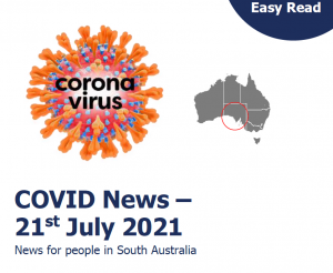 Covid news 21st July booklet titlepage